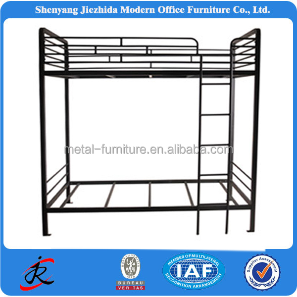 adult / kids custom bedroom furniture set different designs wrought iron bunk beds with stairs