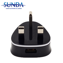 High Quality 3 Pin UK Usb Wall Charger for Mobile Phone