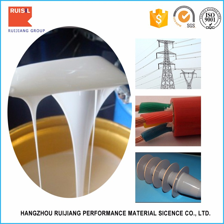 Low volume resistivity liquid silicone rubber material