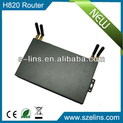 H720 wireless dual module 3g router with sim card slot