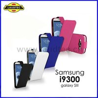 Flip leather case for Samsung Galaxy S3 SIII i9300,All colors available---Laudtec