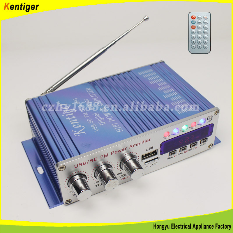 2015 NEW 12V USB/SD/FM car amplifier