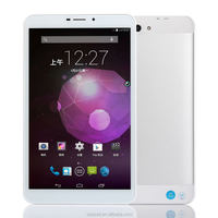 Factory price android 4.2 MTK8382 quad core dual camera phone call 3g alibaba express tablet S802