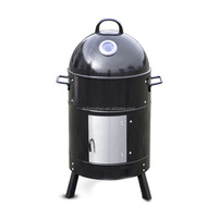 Wholesale Household Portable Outdoor BBQ Grill Barrel Shape BBQ Grill