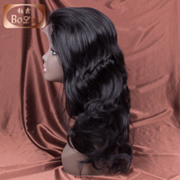 Aliexpress Wholesale Factory Unprocessed Virgin Remy Kinky Straight Human Hair Full Lace Wig With Baby Hair