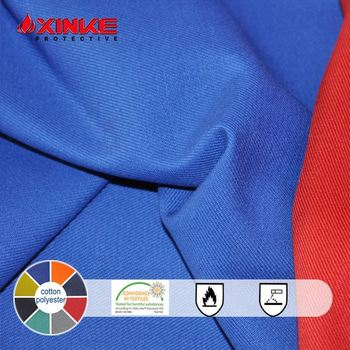 good quality polyester cotton wind proof fabric for protective workwear