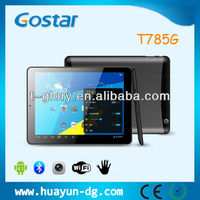 7.85'' MTK8389 quad core tablet pc with IPS sim 3G calling