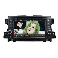 Android car radio with Bluetooth 3G WIFI for CX5 7 inch double din car dvd with gps
