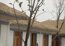 cheap metal thatch roof tiles