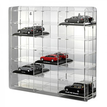 wholesale custom made model train acrylic display cases