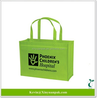 world's first pla 100% biodegradable promotional shopping tote non woven bag