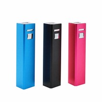mobile 2600mah 18650 battery charger power bank