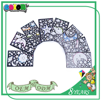 Hot Sell New Design Self Adhesive Cute Decorative Vinyl Bathroom Stickers