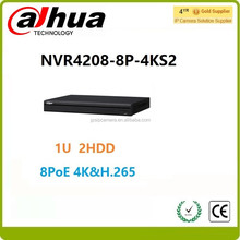 Newest alhua 4200 series Dahua NVR 4208-8P-4KS2 8CH 8POEnetwork video recorder