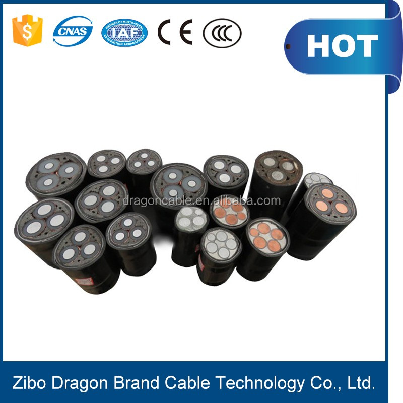 185 sq mm 3 core 4 core Steel wire armoured Underground Electric cables