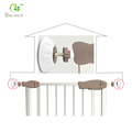 Wall protector guad for baby safety gate wall guards
