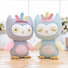 300cm teddy bear plush toy china product new baby children gift unique owl with colorful leather stuffed animal toy