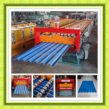 Corrugated Roll Forming Machine/Corrugated Roofing Sheet / barrel type iron sheet making machine roll forming machine roofing