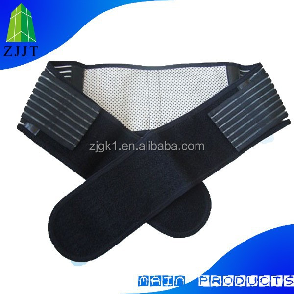 Professional Nano-tech Magnetic fiber waist brace/belt/pad massagers