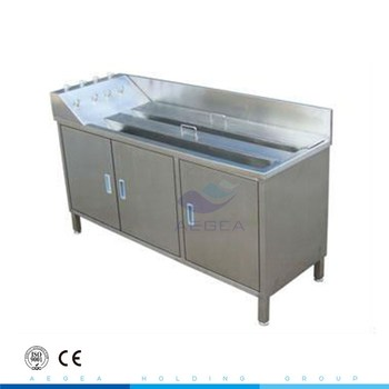 AG-WAS006 hospital furniture economic stainless steel nursing scrub sink