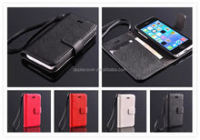 Litchi Pattern Genuine Leather for iphone 5c case mix color good quality