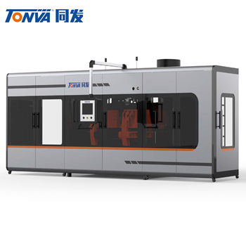 High speed PE/PP plastic container blow moulding machine