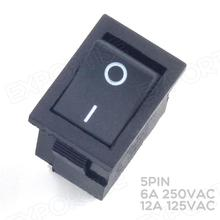 KCD1 Single Pole Double Throw Rocker Switch 4PIN SPDT Switches Wholesale
