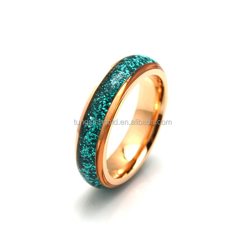 Wholesale Rose Gold Plated Cheap Stainless Steel Women Rings