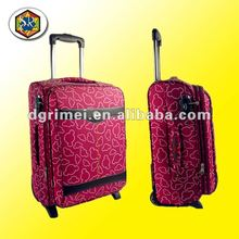 2012 New Design Beautiful Jacquard Trolley Luggage Travel Bag