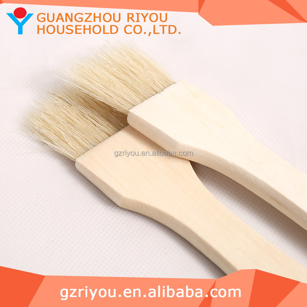 High Grade Cheap Fancy Pig Hair Creative Design BBQ Brush
