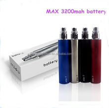Long last super capacity vaporizer pen ego t 3200mah