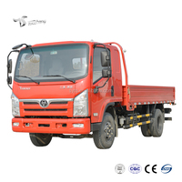 New Brand 4x2 Light Cargo transportation truck 2ton, 3, 5 , 6ton light duty cargo Vehicle Mini 4x4 cargo truck
