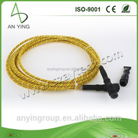 wholesale price high quality 4pin Leak positioning Black sensing wire liquid leaking detecting cable