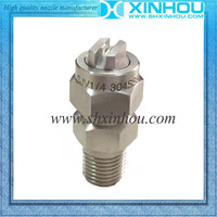 High pressure washer stainless steel air sparge spray nozzle