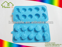 Unique design Food grade shell shape chocolate silicone cake mold