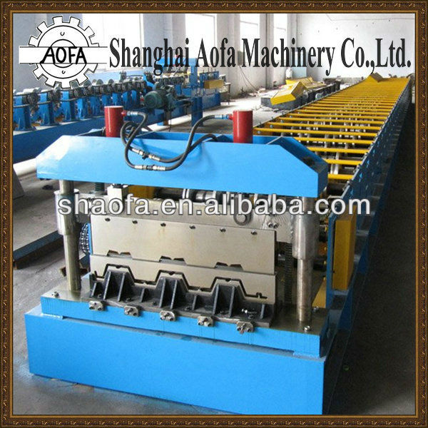 Galvanized plate Floor Deck Cold Roll Forming Machine