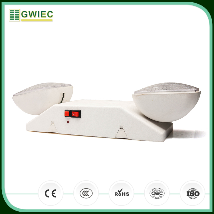 GWIEC Wenzhou High Quality 4W Rechargeable Twin Spot Led Emergency Light For Home