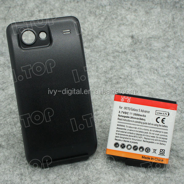 For Samsung Galaxy S Advance i9070 Extended Battery