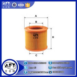 High quality air filter 9318502 for car