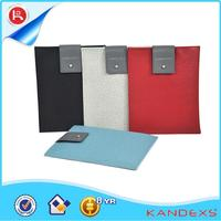 new srtyle leather sleeve tablet case with laptop padding