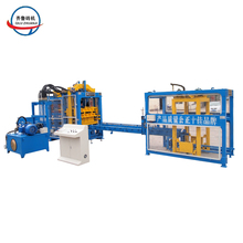 Germany fully automatic QT8-15 interlock brick hollow block making machine product line plant price