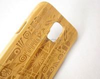 Real wood bamboo case for Samsung Galaxy S5 cover