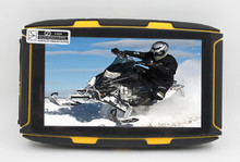 Android Waterproof GPS Navigator for Motorcycle Car Bike 5 inch android tablet pc