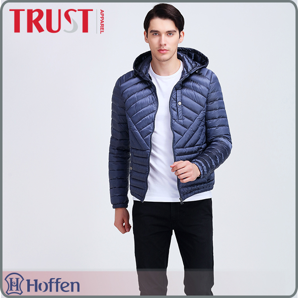 New wind breaker mens down feather jacket with guaranteed quality