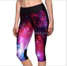 Dry Fit Custom Sublimation Yoga Pants