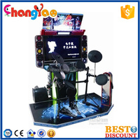 Electronic Drum Simulator Coin Operated Game Machine