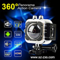 "360 Action Camera Cube 360S 1.5"" FHD 1080P WiFi panoramic action camera"