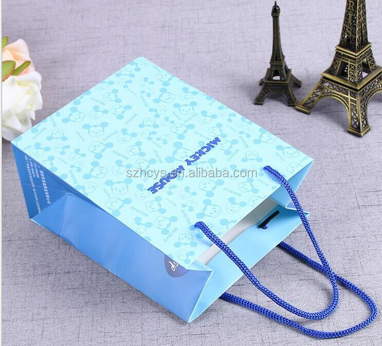 New design exquisite paper package box custom