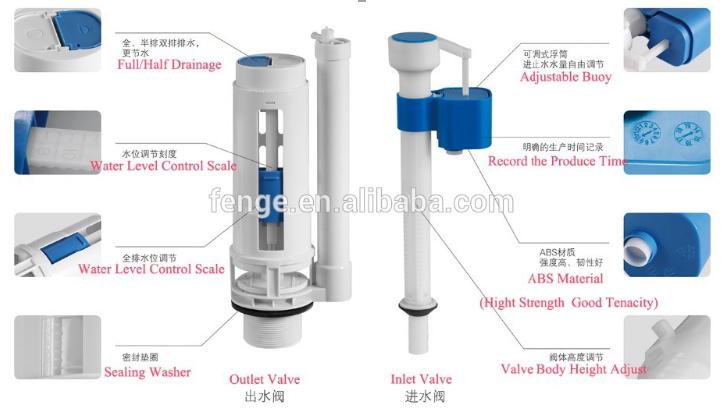 toilet high pressure flush valve