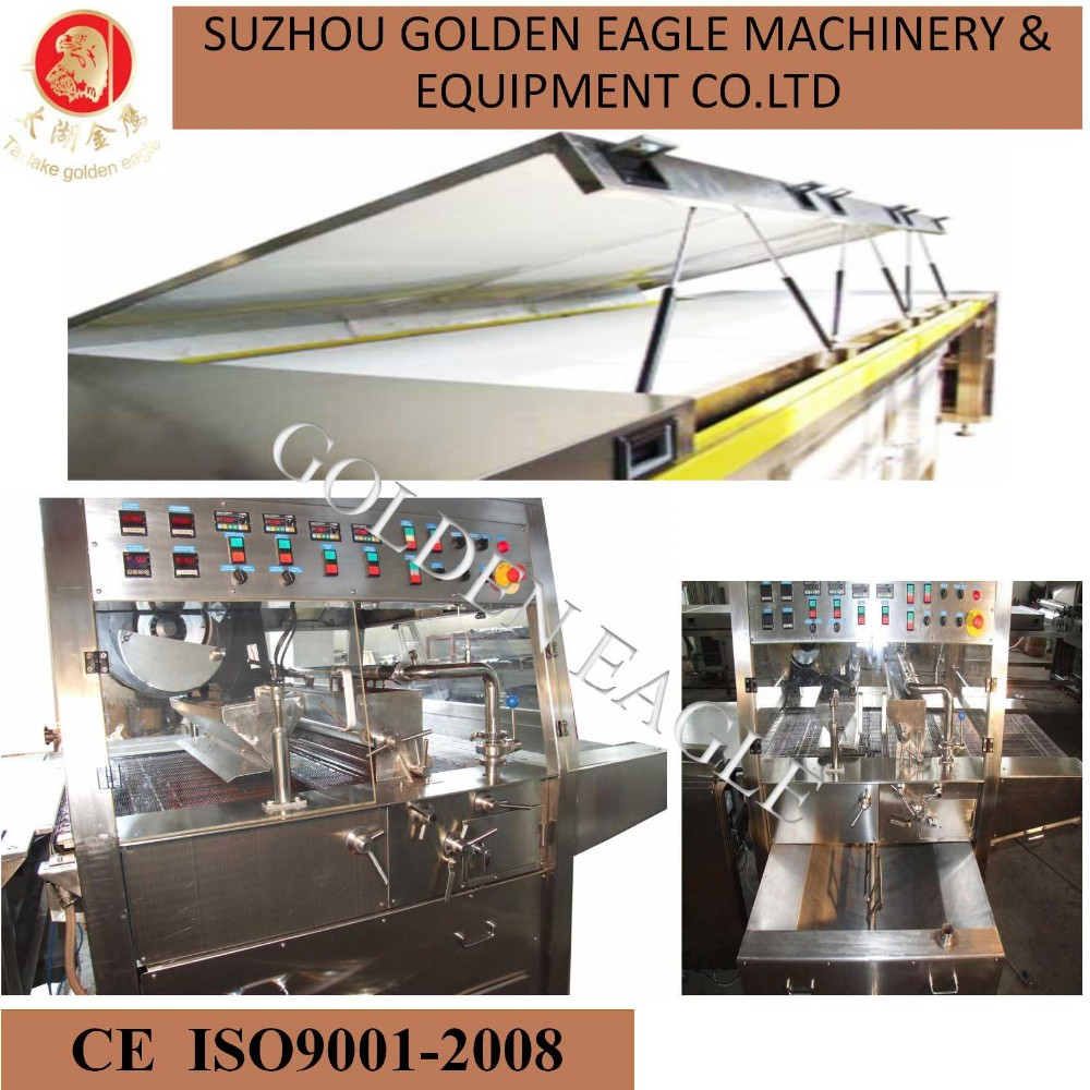 Hot Sale Chocolate Enrobing Machine With Cooling Tunnel